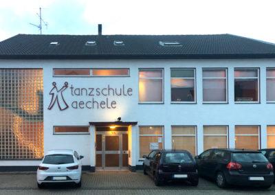 Tanzschule Kaechele (Blick von vorne)