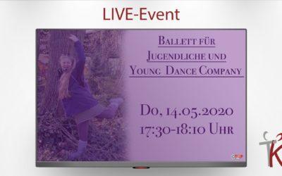 Ballett für Jugendliche mit Steffi